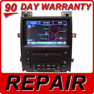 Image Is Loading Repair Service Cadillac Escalade Sts Navigation Unit Cd