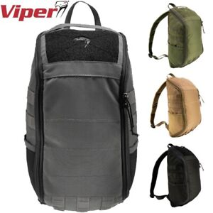 VIPER TACTICAL COVERT PACK MOLLE WEBBING TABS RUCKSACK DAY BAG AIRSOFT ARMY