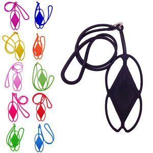 Silicone-Lanyard-Case-Cover-Holder-Sling-Necklace-Wrist-Strap-For-Cell-Phone-FB