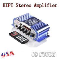 2channel Hi-fi Mini Amp Audio Mi Digital Powerful Stereo Mp3 Amplifier Fm Us Ce