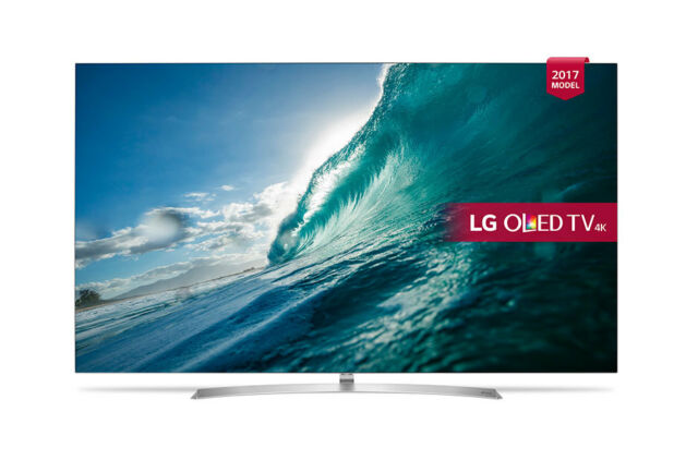 "LG OLED55B7V 55"" OLED Ultra HD 4K Smart HDR TV with Wifi & WebOS & Freeview HD"