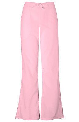 Cherokee Scrubs Workwear Women's Drawstring Scrub Pant 4101 Pink Blush