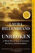 Unbroken : A World War II Story of Survival, Resilience, and Redemption by Laura Hillenbrand (2014, Paperback)