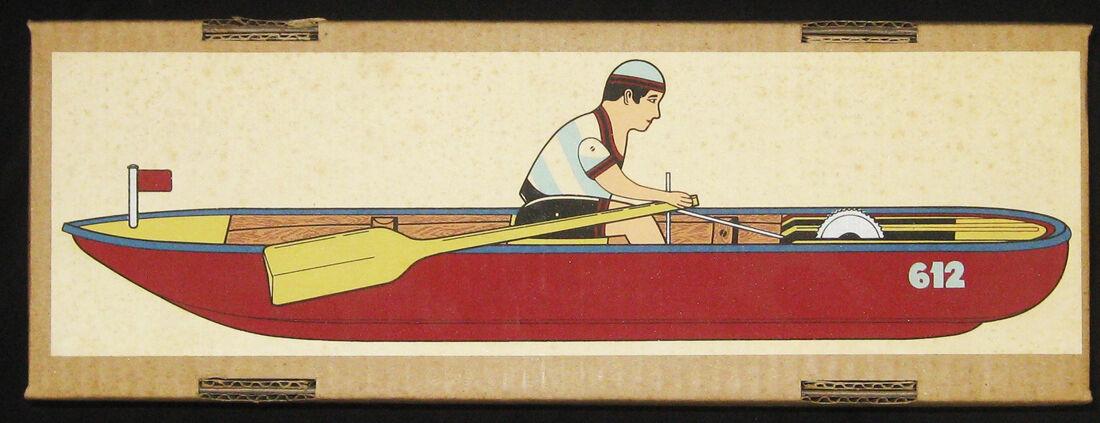 Vagón Paya Original Juguete Vintage Ref  612 barca de remos - 1923 Ltd No.1645 5000 36cm-NEW