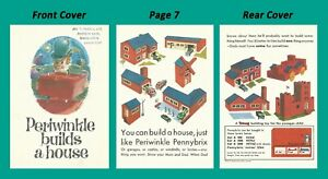 Triang-Minic-Toys-1964-Pennybrix-book-instruction-leaflet-featuring-Periwinkle