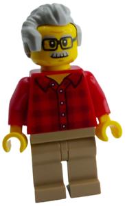 Lego Frau Shirt mit Streifen Sonnenbrille Strandgängerin Minifigur twn352 Neu