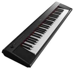 B-Ware-yamaha-piaggero-np-12-Portable-Stage-piano-e-piano-keyboard-negro