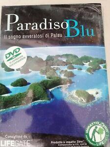 DVD documentario PARADISO BLU Il sogno di Palau  LIFEGATE      nuovo