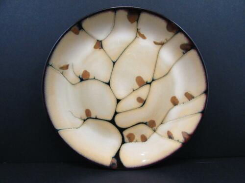 "Andria by Mikasa 8-1//4/"" Salad Plate Gourmet Basics Rust Black Design b32"