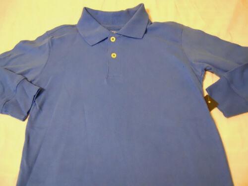 NEW Boys Solid Polo Shirts School Uniform Size XS S M L XL XXL Husky