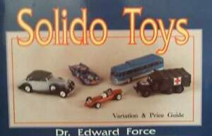 LIVRE-NEUF-SOLIDO-TOYS-JOUETS-MINIATURE-DIECAST-1-43-car-truck