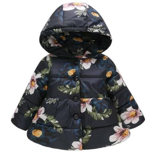Niños Niñas Sudadera Con Capucha De Oso De Peluche Chaqueta Acolchada con Capucha Abrigo Parka Sobretodo Prendas de abrigo
