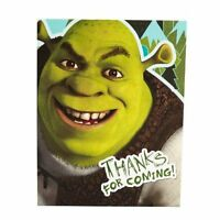 Shrek Thank You Notes Birthday Party 8 Count Cards