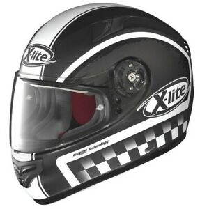 X-Lite sportlicher Motorrad Integralhelm X-603 Ride N-Com Größe XS NEU