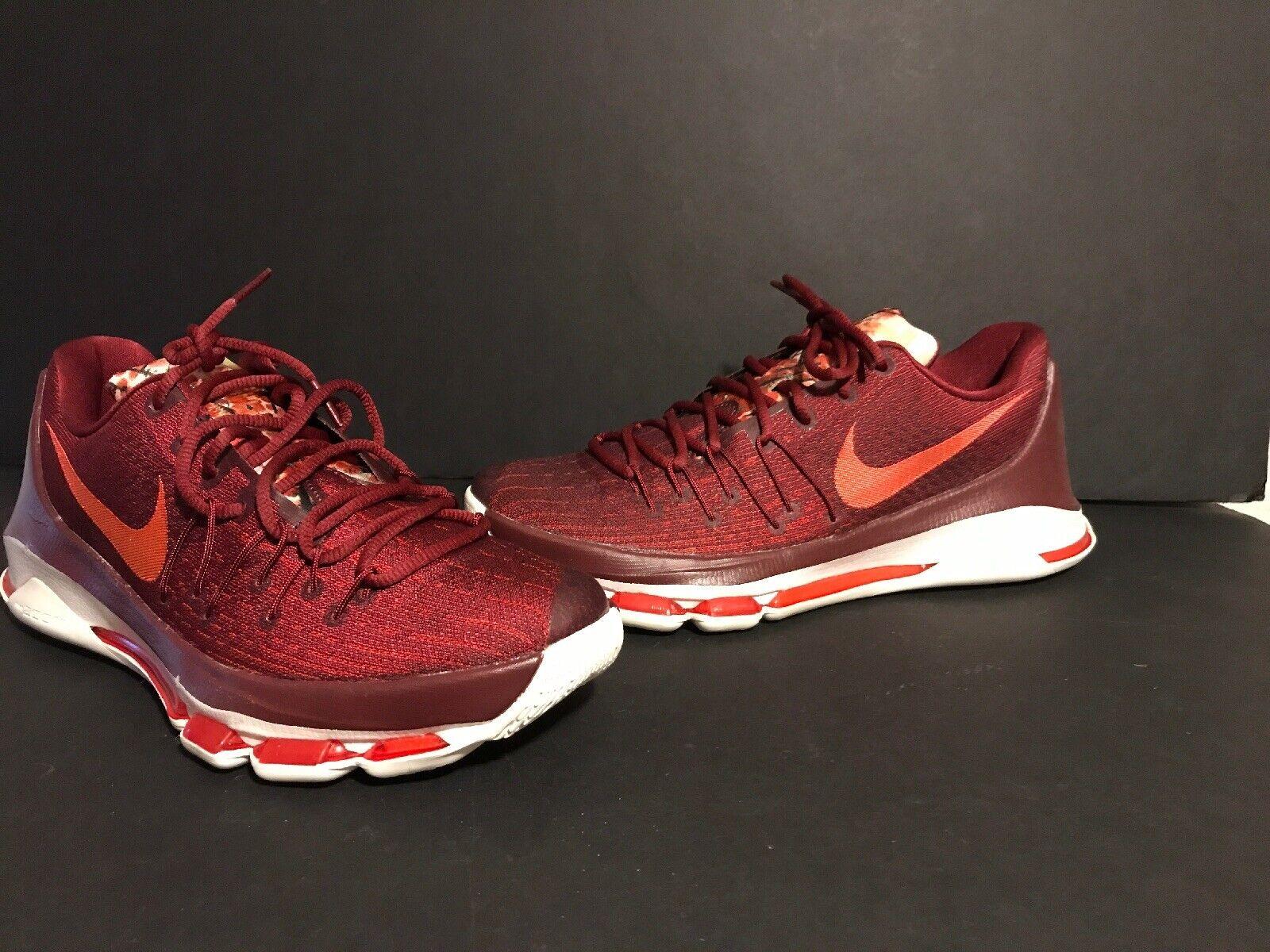 Nike KD 8 Team rosso Bright  Crimson Sail Molto Raro SZ 9.(749375 -661)  Spedizione gratuita al 100%