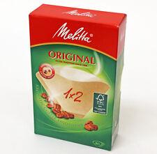 Originale Autentico Melitta 1X2 Filtri Carta macchina da caffè 80. MEL6587512