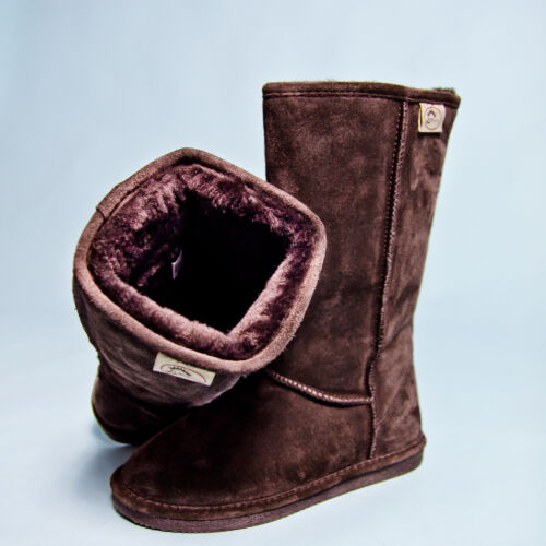 Lammfellstiefel Hedgehog Winterstiefel Fell-Stiefel Boots Gr 37,38,39 braun