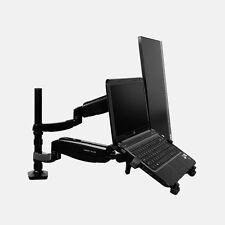 MOLLA A GAS full motion inclinazione e girevole Dual Monitor e laptop Arm Mount