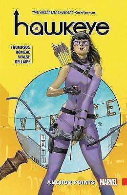Hawkeye: Kate Bishop Vol. 1: Anchor Points by Kelly Thompson, Leonardo Romero...
