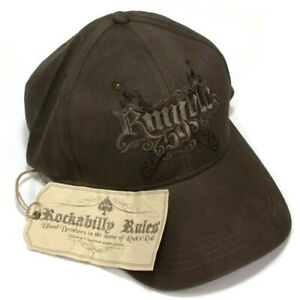 Trucker-Hat-Baseball-Cap-with-034-Rumblle-59-034-Logo-Embroidered