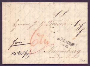 Vorphilatelie-Bremen-1835-Stempel-des-preussischen-Postamts-in-Bremen-257