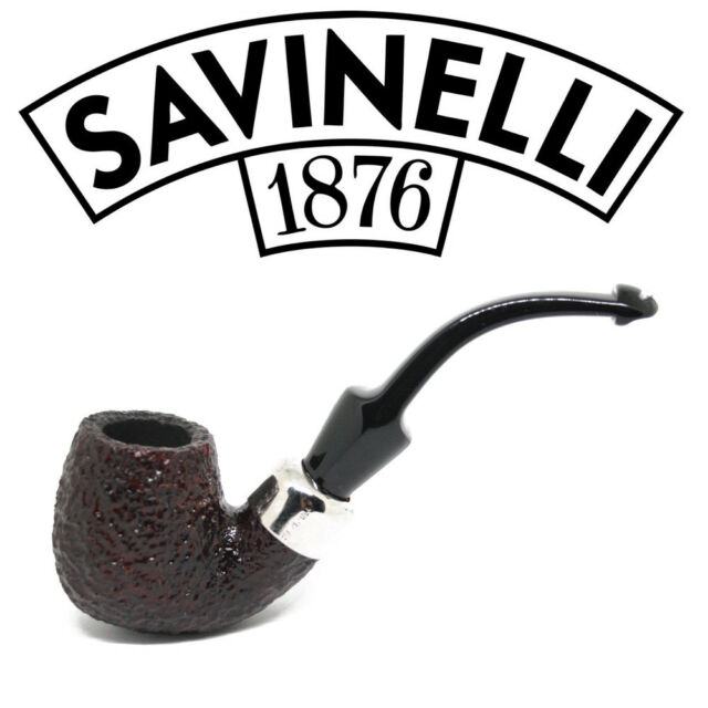 New Savinelli - Dry System 602 Rusticated (6mm Filter) Pipe