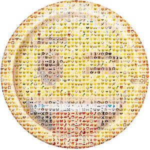 EMOJI LARGE PAPER PLATES 8 Birthday Party Supplies IPhone Android Message