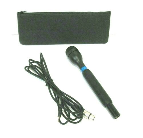 Insignia NS-DHMIC20 Handheld Microphone Reporter Style  3.5mm Connector