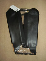 Sherwood Leather Gaiters - Black - For Horse Or Pony Riding - Very Smart