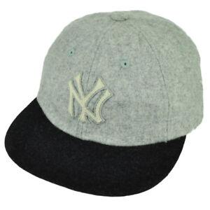 19df306227b MLB American Needle New York Yankees Wool Belt Buckle Flat Bill ...
