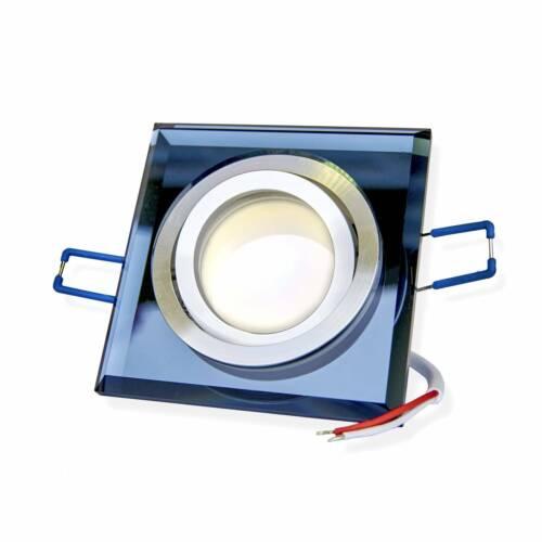 10x LED Einbaustrahler Set Glas schwenkbar super flach 3W 5W 6,5W  Spot Leuchte