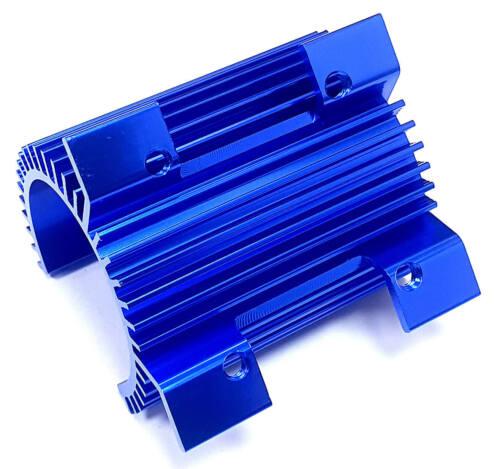 1//8 1//10 Buggy 540 550 Motor RC Heatsink Heat Sink fits Fan 40x40 40mm Navy Blue