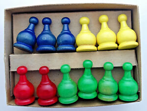 replacement-parts-Parcheesi-tokens-movers-vintage-wood-green-red-yellow-blue-1-034