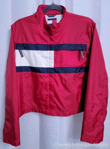 Vintage Tommy Hilfiger Flag Jacket Women's size LA