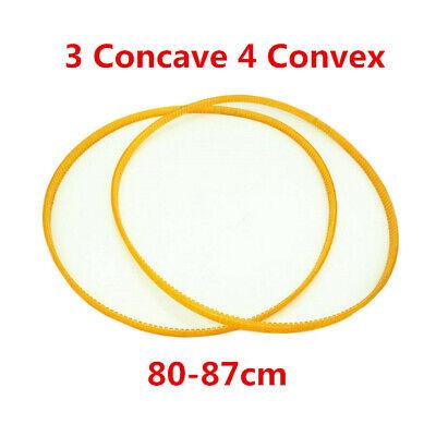 2PC Transmission PU Belt Six Concave Seven Convex Wheel Balancer Part 96cm
