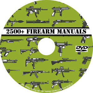 Details about 2500+ Firearm Manuals DVD Rifle Carbine Pistol Shotgun  Revolver Gun pdf CD Disc