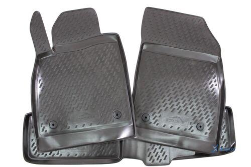 3D Gummifußmatten Gummimatten für Opel Astra J 2009-2015 4-tlg Set