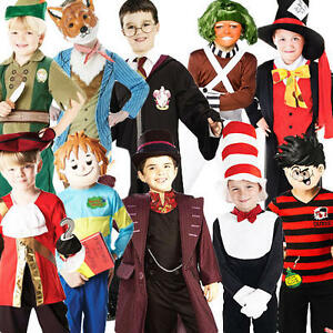 boys story book week characters fancy dress world book day kids