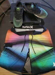 Détails sur Nike Air Max 90 Hurley Phantom 4D Sz 9 LIMITED 500 + short hurley phantom T32