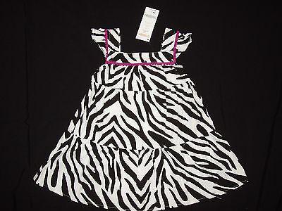 Black and White Zebra Print Onepiece Size 12-18 Months