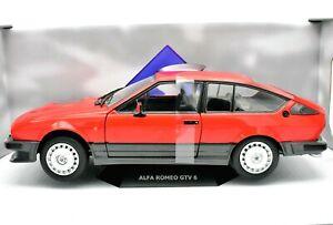 Miniature-voiture-Echelle-1-18-Alfa-Romeo-Gtv-6-Model-Solido-Vehicule-Coche