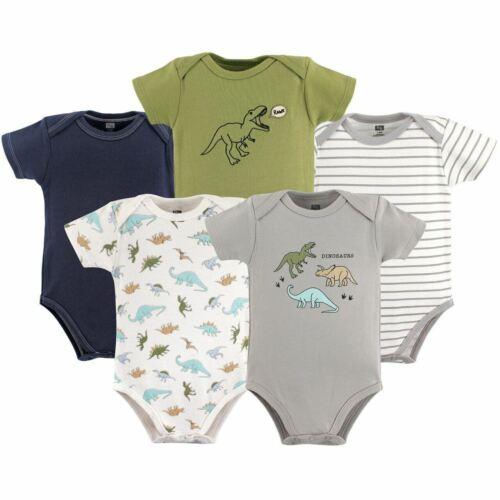 Dinosaurs Hudson Baby Boy Bodysuits 5-Pack