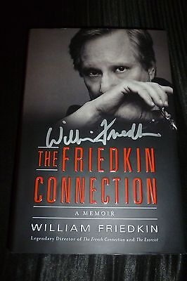 """x2 exact Proof Good Companions For Children As Well As Adults William Friedkin Hand-signed """"friedkin Connection"""" Hardcover"""