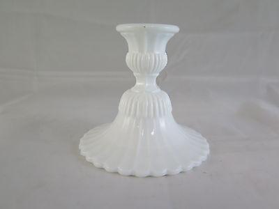 Adroit Piccolo Candeliere In Vetro Lattimo Primo Novecento Vintage Portacandela R79 Moderate Price Silverplate Silver
