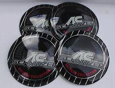 BMW AC SCHNITZER Wheel Hub Caps Badge Emblem Stickers 65mm Set of 4 EPOXY RESIN