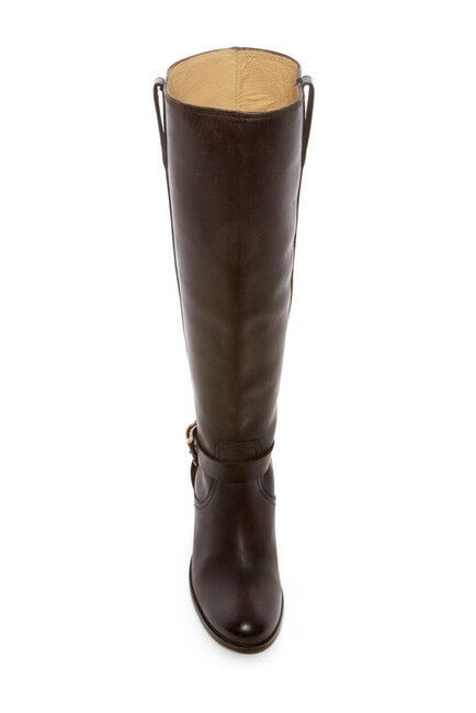 NEW!! Frye 'Malorie' Brown- Knotted Tall Boot- Stonewashed Brown- 'Malorie' Size 6.5 B   (B80) cb6731