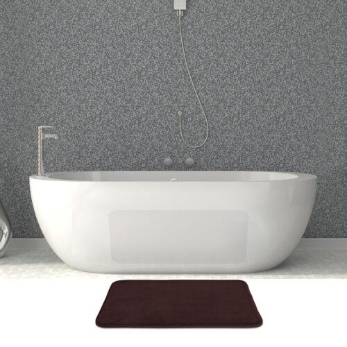 AOACreations Non Slip Memory Foam Bathroom Bath Mat Rug 2 Piece Set