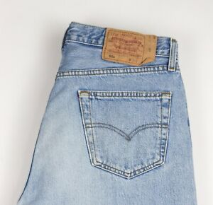 Levi-039-s-Strauss-amp-Co-Hommes-501-Jeans-Jambe-Droite-Taille-W34-L34-ATZ529
