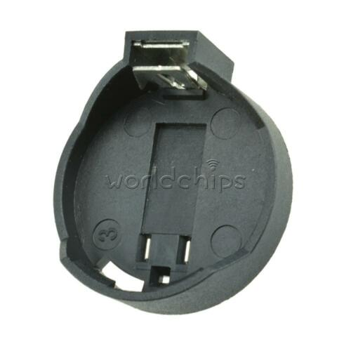 10PCS CR2032 3V CR2025 Button Coin Cell Battery Holder Socket Box Case ROHS