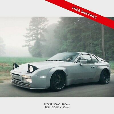 Porsche 924 944 Widebody Kit Universal Fender Flares Ebay